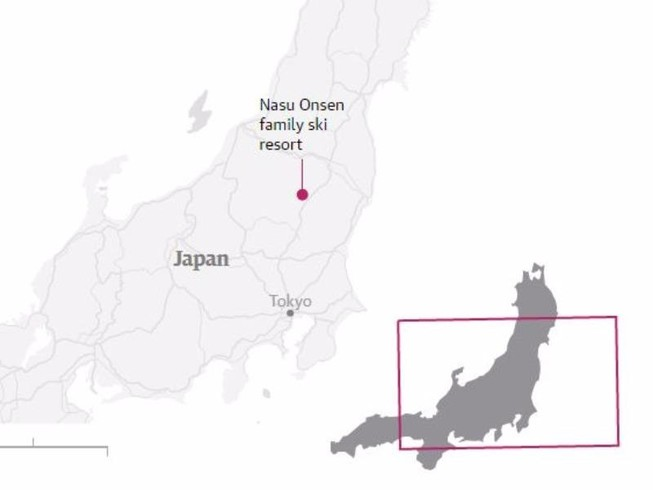 Lở tuyết tại Nhật Bản, nhiều học sinh thiệt mạng