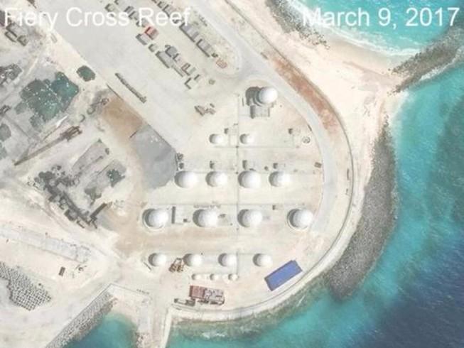 Trung Quốc sắp xây xong hạ tầng quân sự ở biển Đông?