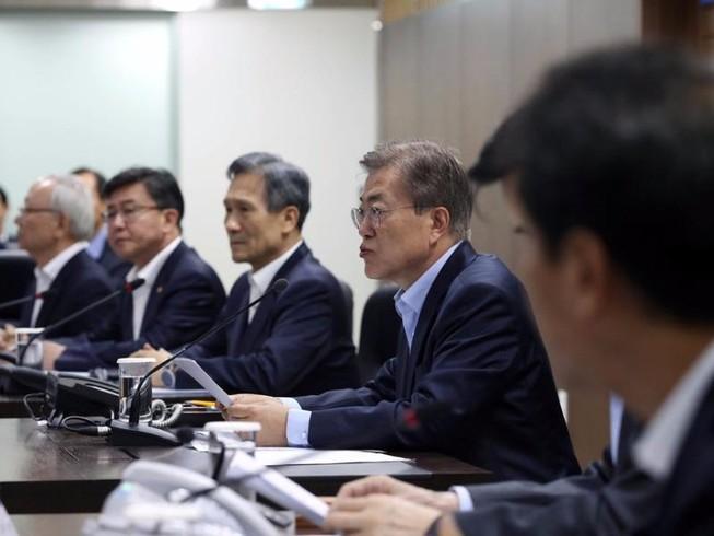 Tổng thống Hàn Quốc cảnh báo chiến tranh với Triều Tiên