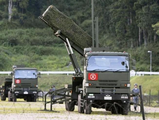 Nhật đưa tên lửa Patriot tới 4 tỉnh đề phòng Triều Tiên
