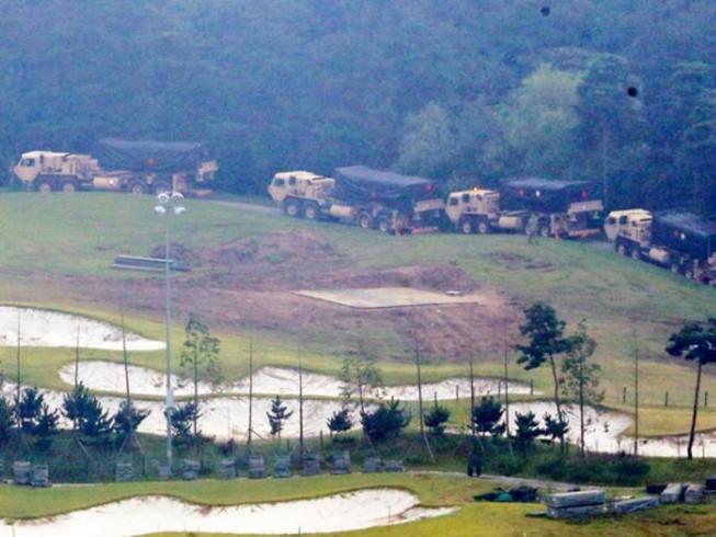 Hàn Quốc triển khai xong 4 bệ phóng THAAD