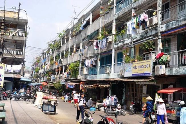 Lồng ghép nhiều chung cư vào gói đầu tư cải tạo