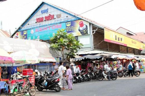 Xây Trung tâm kinh doanh hóa chất để dời chợ Kim Biên