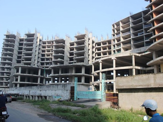 """Chủ đầu tư thế chấp dự án: Rủi ro lớn mua nhà """"trên giấy"""""""