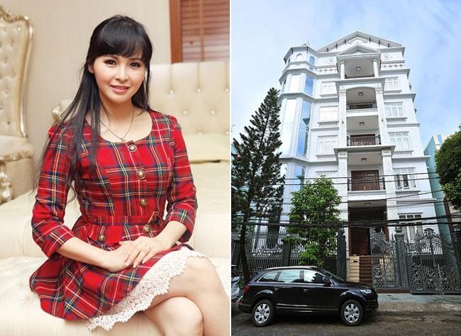 Biệt thự 100 tỷ xa hoa tráng lệ của ca sĩ Trang Nhung