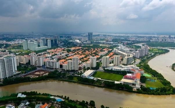 Dự án khu Nam TP.HCM ngần ngại mở bán vì mùi hôi từ Đa Phước