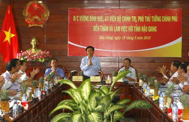 Hậu Giang kiến nghị Chính phủ hỗ trợ trên 565 tỉ đồng công trình phòng chống hạn mặn