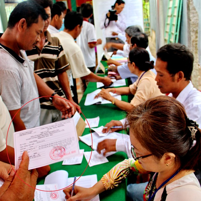 Cần Thơ triển khai viết, cấp thẻ cử tri bầu bổ sung 2 ĐBQH