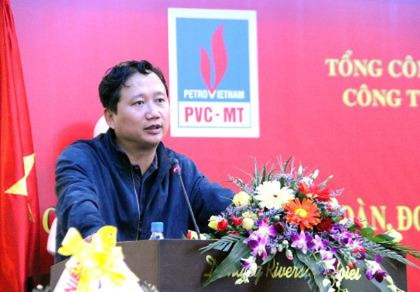 ông Trịnh Xuân Thanh thời còn ở ngành xây lắp dầu khí - ảnh Internet