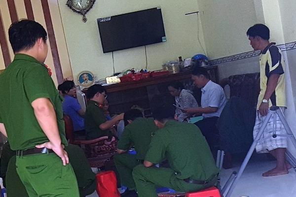 Đại tá Trần Ngọc Hạnh - Giám đốc Co6ngan TP Cần Thơ tại buổi họp báo trưa 16-9