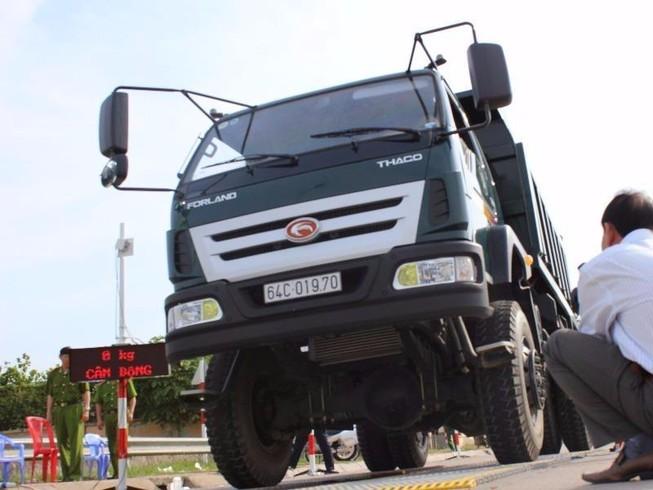 Cuối năm tập trung kiểm tra tải trọng trên quốc lộ 1A