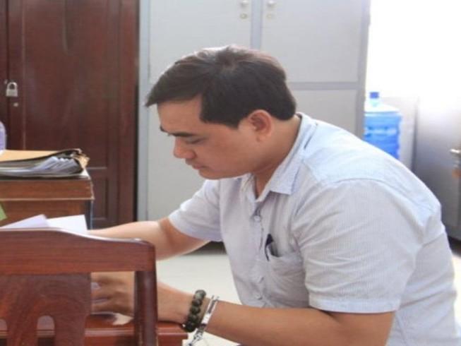 Bị can Hải tại cơ quan điều tra Công an Cần Thơ