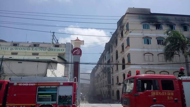 Lại cháy ở Công ty Kwong Lung - Meko ở Cần Thơ
