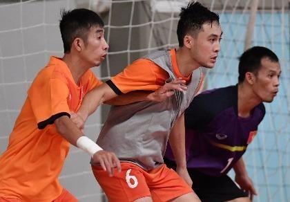 Futsal Việt Nam sẵn sàng đối đầu Guatemala