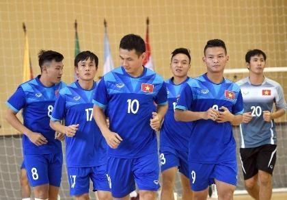 Futsal Việt Nam quyết đấu Paraguay