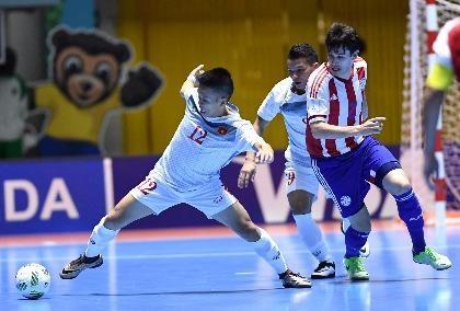 Tuyển Futsal Việt Nam cần 1 điểm trước tuyển Ý