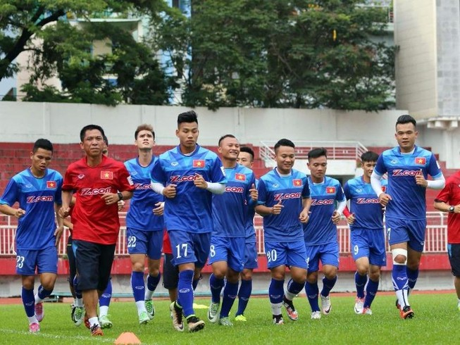 Tuyển Việt Nam đối đầu nhà vô địch Hàn Quốc