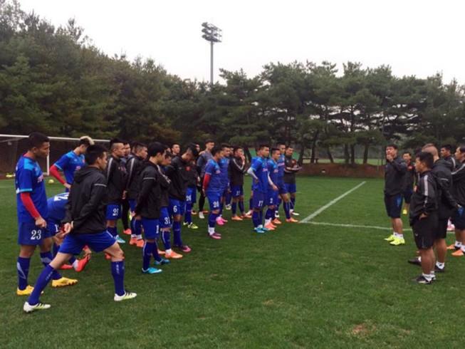 Đội tuyển Việt Nam hòa sinh viên Đại học Jeonju 1-1