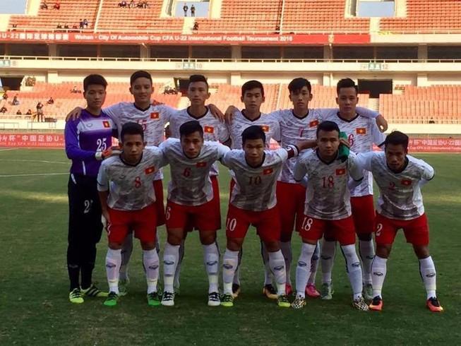 U-22 Việt Nam cầm hòa đội mạnh nhất giải U-22