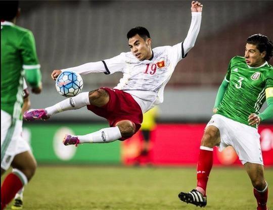 U-22 Việt Nam ngã ngựa trước U-22 Uzbekistan