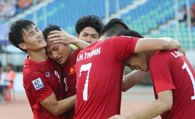 Myanmar giúp Việt Nam giành vé sớm vào bán kết