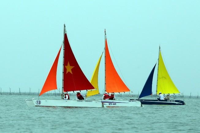 Vũng Tàu Marina 1 vô địch giải đua thuyền buồm