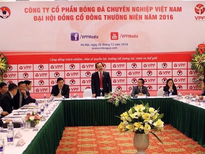 VPF sẽ thu hơn 190 tỉ đồng ở mùa giải 2017