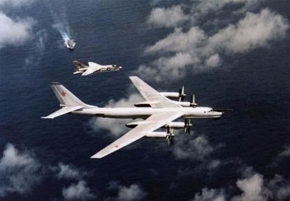 'Gấu Nga' Tu-95: Đối thủ xứng tầm của 'Pháo đài bay' B-52