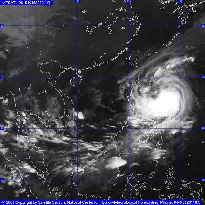 Bão Koppu giật cấp 17 hướng vào biển Đông