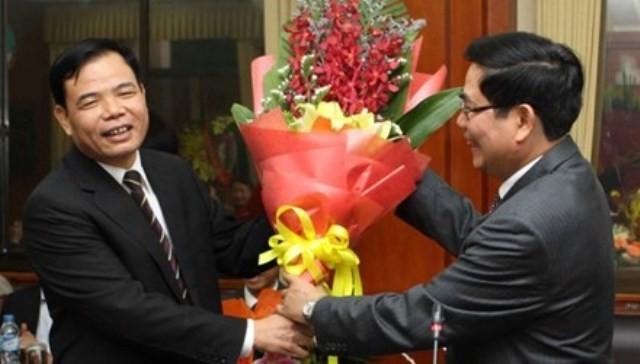 Phó ban Kinh tế Trung ương giữ chức thứ trưởng Bộ NN&PTNT