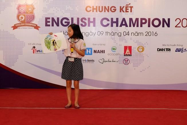 16 thí sinh vào chung kết English Champion 2016