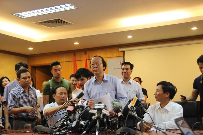 Thứ trưởng Võ Tuấn Nhân nói gì sau cuộc họp báo vụ cá chết?