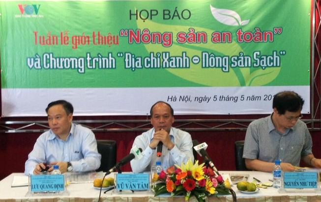 Bộ NN&PTNT công bố 69 địa chỉ nông sản sạch an toàn