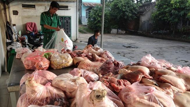 Phát hiện gần 500 vụ vi phạm thực phẩm bẩn