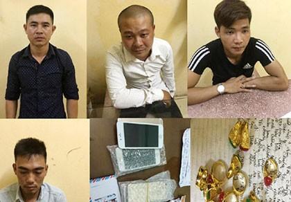 Bắt nhóm chuyên lừa đảo bằng vàng giả, iPhone nhái