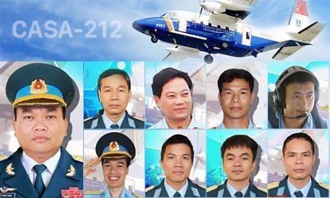 Tặng huân chương Bảo vệ Tổ quốc cho 9 quân nhân CASA 212