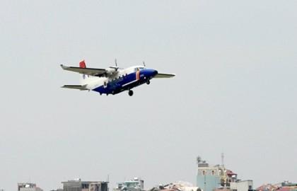 Máy bay Casa 212 và Su-30MK2 đã cất cách trở lại