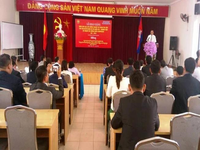 Cán bộ Campuchia sang VN bồi dưỡng nghiệp vụ thanh tra
