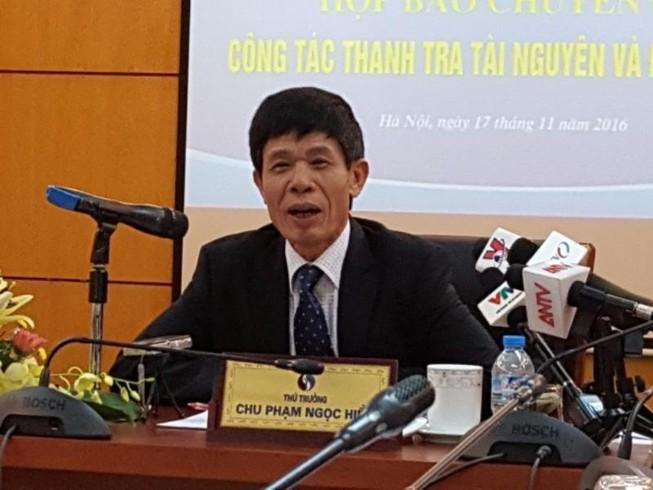 Nguyên Bộ trưởng Nguyễn Minh Quang nhận trách nhiệm
