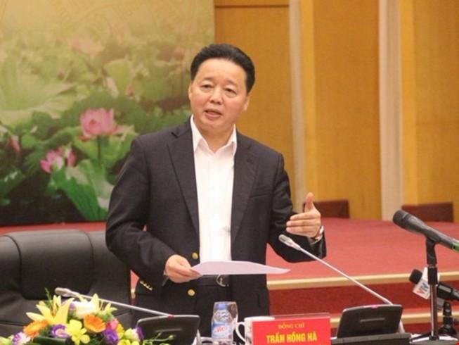 Bộ trưởng Trần Hồng Hà: Không tái diễn sự cố môi trường