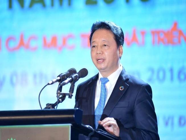 Bộ trưởng Trần Hồng Hà yêu cầu không tặng quà cấp trên