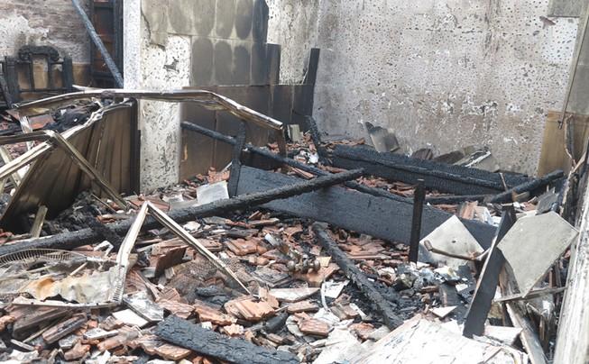 Cụ ông 92 tuổi tử vong trong vụ cháy nhà lúc nửa đêm