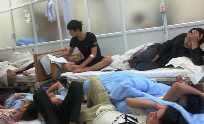 82 lao động ở dự án Formosa bị ngộ độc thực phẩm