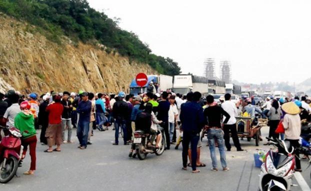 Điều tra vụ người dân chặn đường gây ách tắc quốc lộ 1A
