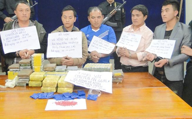 Lào và Việt Nam cùng thưởng hơn 100 triệu đồng cho chuyên án ma túy