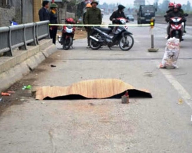 Nghi án gây tai nạn chết người trên quốc lộ 1A rồi chạy trốn