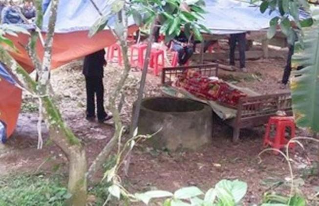 Điều tra nghi án thanh niên chết bất thường dưới đáy giếng