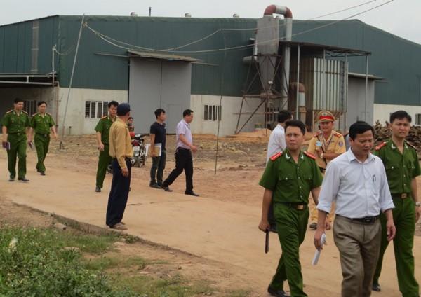 Điều tra vụ tại khu công nghiệp Nam Cấn khiến 11 công nhân bị thương
