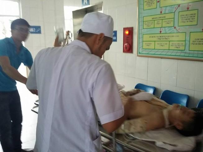 Nổ lớn tại Khu công nghiệp Nam Cấm, nhiều người bị thương