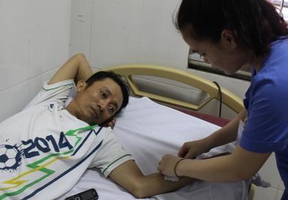 Một người Hà Tĩnh nhập viện do ngộ độc thực phẩm